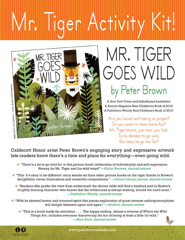 Mr Tiger Activity Kit